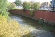 River Tame at Bromford Bridge
