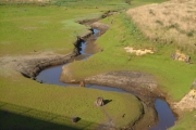 River Wolf entering Roadford Reservoir