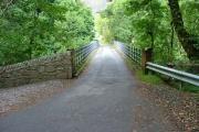 Bridge over the Kinlochewe River