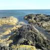 Seashore at Port Righ.