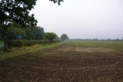 Farmland at Tockwith crossroads