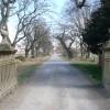"the ""Via-Sacra"" from South Lodge gate-house"
