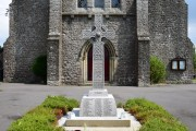 War Memorial  and Holy Trinity Church