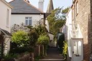 Slapton, View to the church 2010