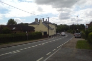 Church Road, looking towards The Partridge (Station Hotel)