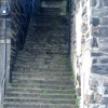 The steps at Porthmadog Harbour