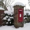 Brinton's snowy box