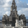 Liverbuilding from the top of Martins Bank