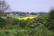 View of Worsborough Village from Upper Hoyland