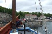 "Historic Fishing Boat ""Reaper"" entering Dysart"